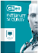EIS1J1C Eset Internet Security antivirus/spyware/firewall  1client/1jr  eis